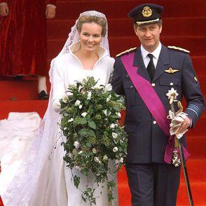 Bruidsjurken celebrities: Celebs in hun witte jurk!