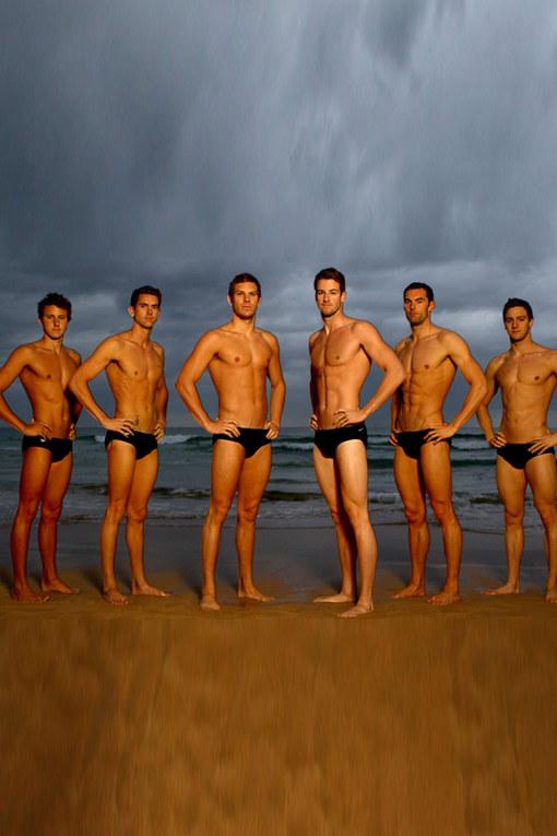 Das australische Schwimm-Team
