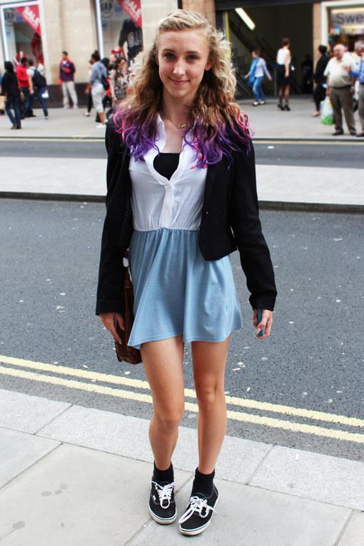 Ally uit Londen - Streetstyle 2012
