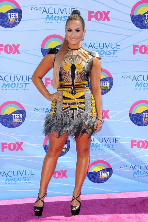 The Teen Choice Awards 2012 - Demi Lovato