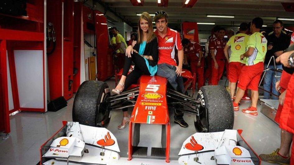 ¡La nueva novia de Fernando Alonso!