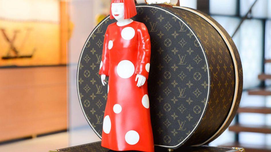 Exposición de Louis Vuitton y Yayoi Kusama en Nueva York