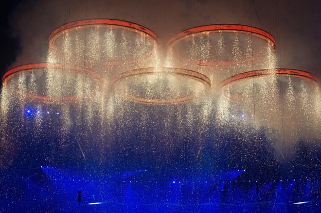La cerimonia inaugurale delle Olimpiadi di Londra