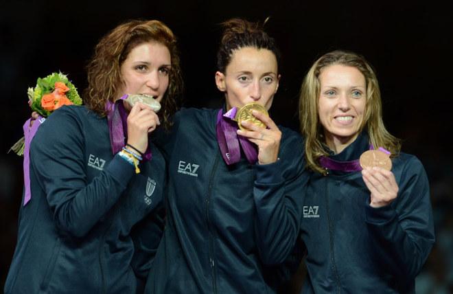 L'Italia parte con un podio in rosa alle Olimpiadi