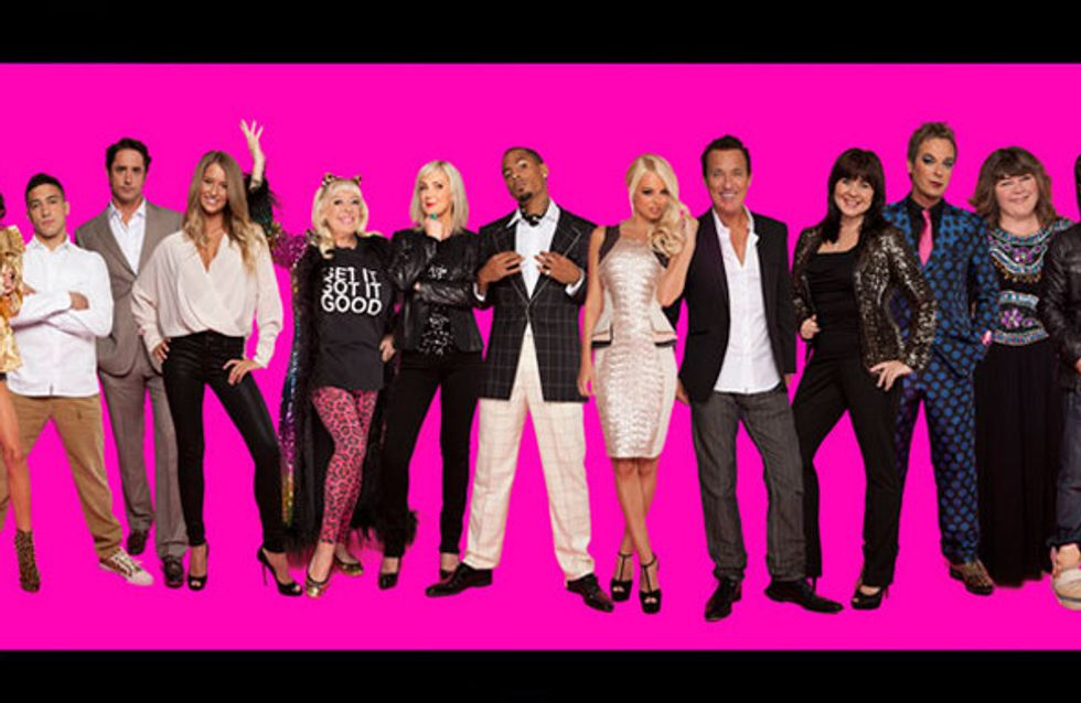 Celebrity Big Brother 2012: The housemates