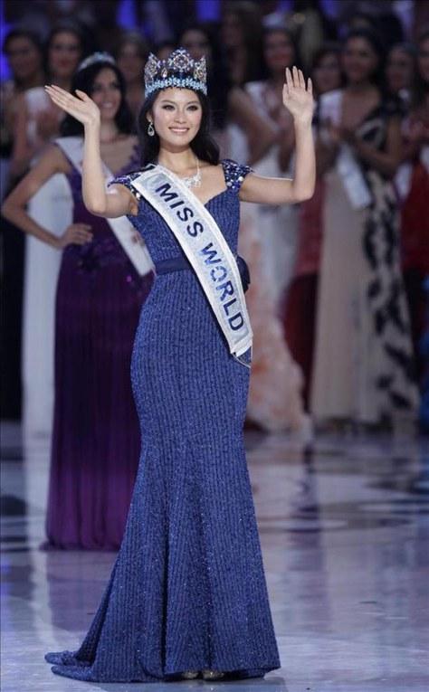 Wen Xiayu, Miss Mundo 2012