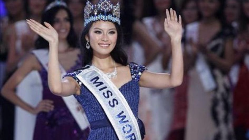 La representante de China, Wen Xiayu, Miss Mundo 2012