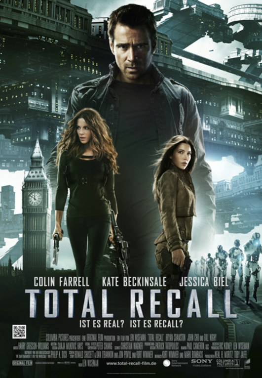 'Total Recall' Filmplakat