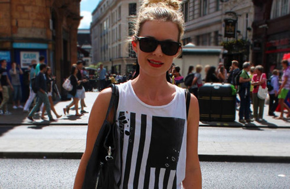 Streetstyle im August: Der Mode-Mix aus London