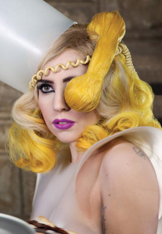 Lady Gaga: Haare als Kunstform