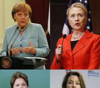Most powerful women: Girls who rule the world