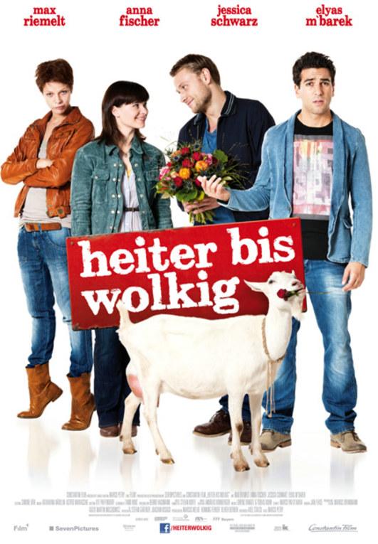 """Das Filmplakat zu """"Heiter bis wolkig"""""""