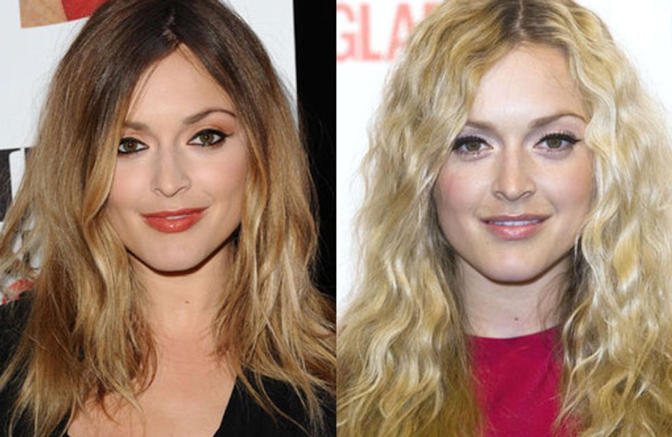 Fearne Cotton hair style history: Fearne's tousled tresses