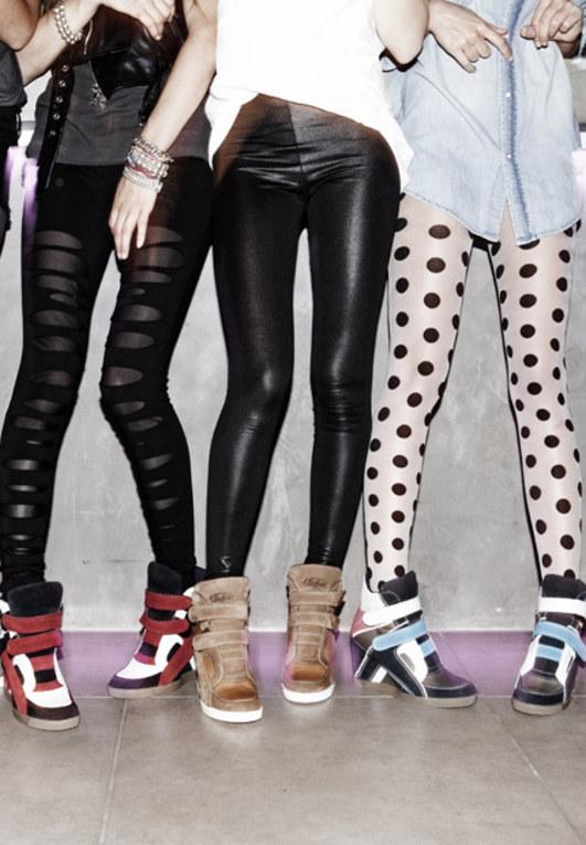 Sneaker Wedges: Der Trendschuh 2012