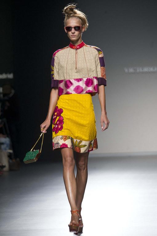 Le sfilate primavera/estate 2013 della Madrid Fashion Week - Victorio y Lucchino primavera 2013
