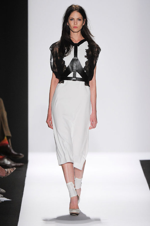 BCBG Max Azria - New York Fashion Week Spring Summer 2013