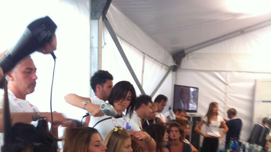 Esclusiva/ Le foto dal backstage Miss Italia 2012