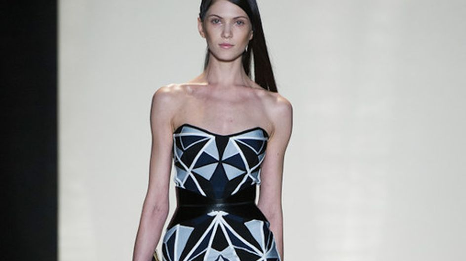 Hervé Léger - New York Fashion Week primavera/estate 2013
