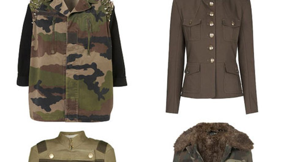 Military jackets: 50 Military fashion finds
