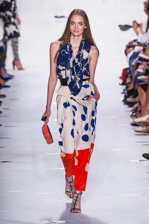 Défilé Diane Von Furstenberg - Printemps-Eté New-York 2013