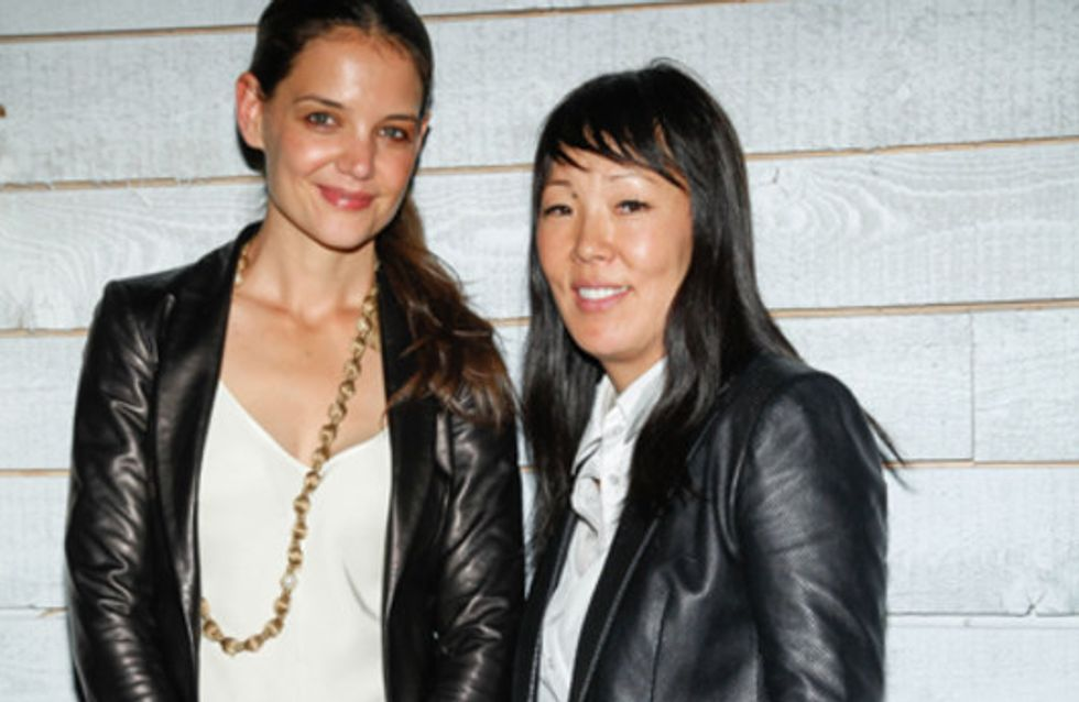 Plötzlich Designerin! Katie Holmes zeigt ihre Mode in New York