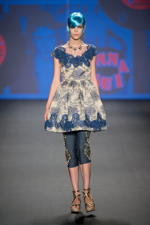 Anna Sui - New York Fashion Week Spring Summer 2013