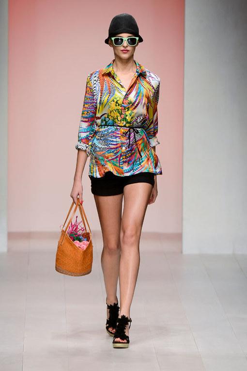 Caroline Charles - London Fashion Week Spring Summer 2013