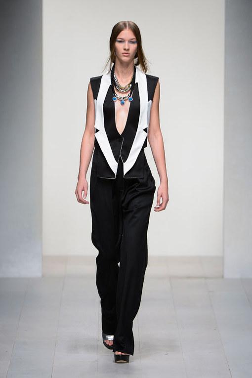 Jean Pierre Braganza - London Fashion Week Spring Summer 2013