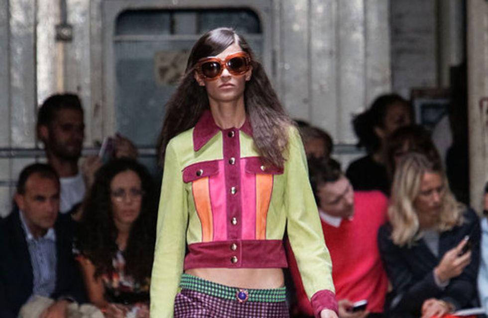 Moschino Cheap & Chic - London Fashion Week Primavera Verano 2013