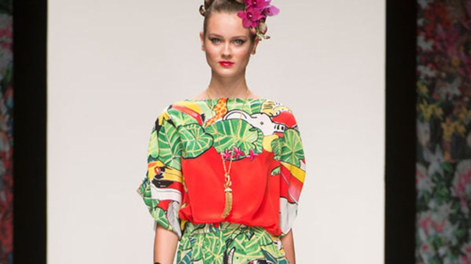 Issa London - London Fashion Week Spring Summer 2013
