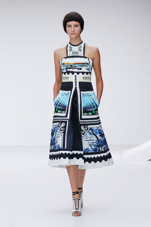 Mary Katrantzou - London Fashion Week Spring Summer 2013