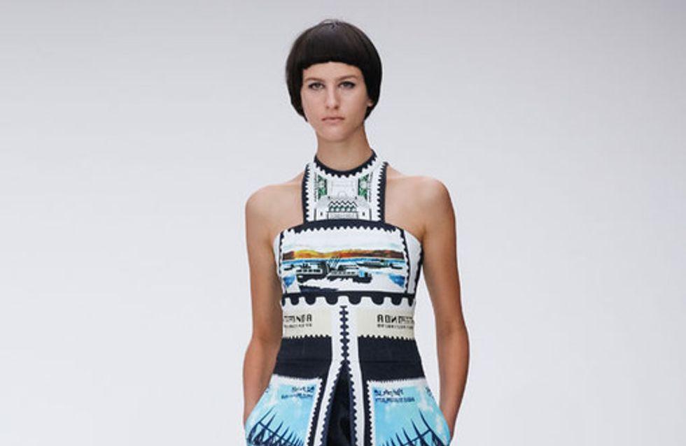 Mary Katrantzou - London Fashion Week Spring Summer 2013
