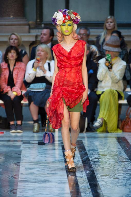 Vivienne Westwood RED - London Fashion Week Spring Summer 2013