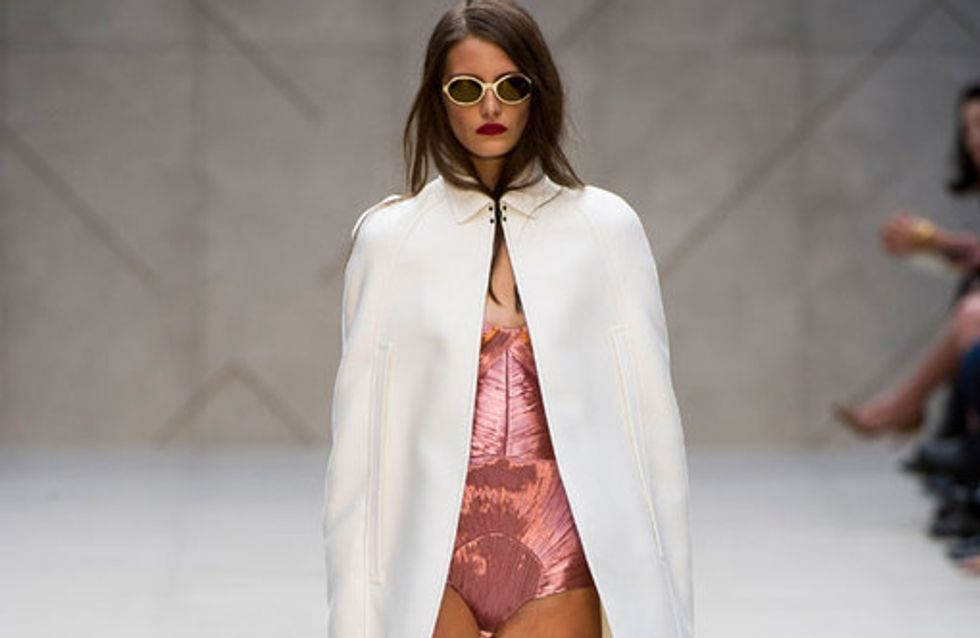 Burberry Prorsum - London Fashion Week Primavera Verano 2013