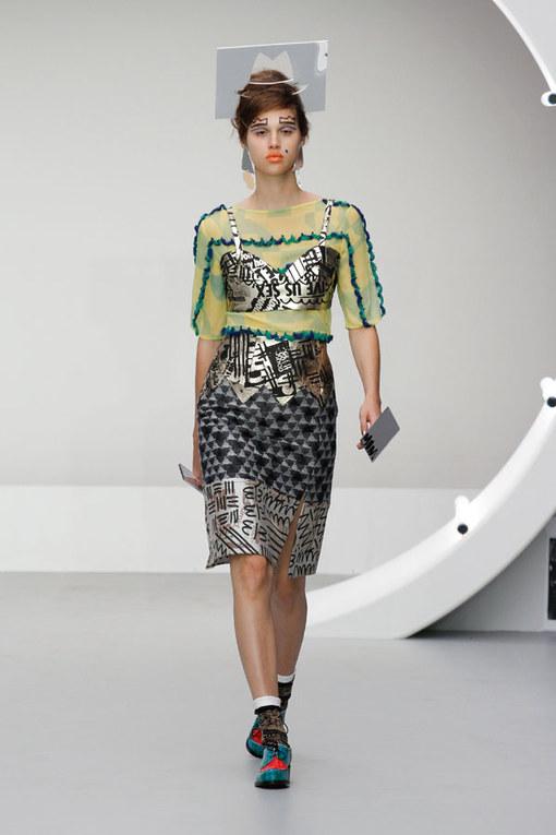 Louise Gray - London Fashion Week Spring Summer 2013