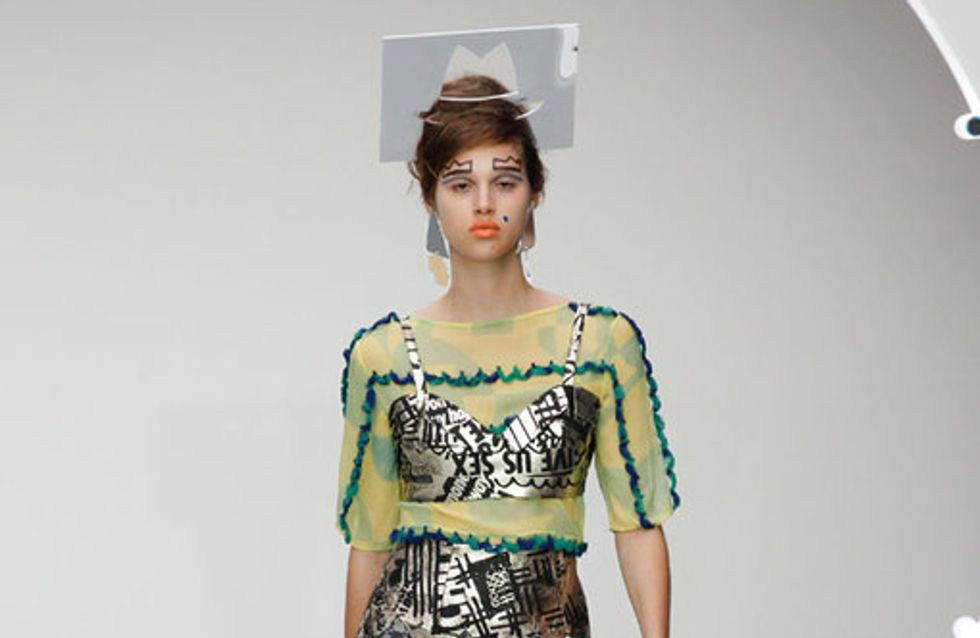 Louise Gray - London Fashion Week Primavera Verano 2013