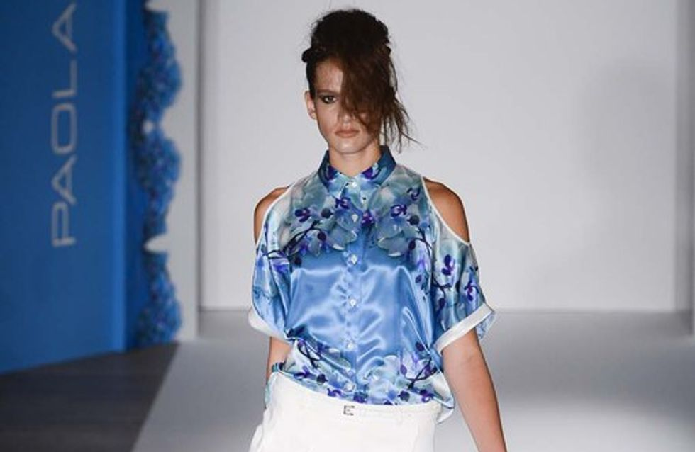 Paola Frani Milano Fashion week primavera estate 2013