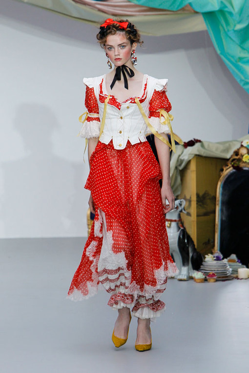 Meadham Kirchoff- London Fashion Week Spring Summer 2013