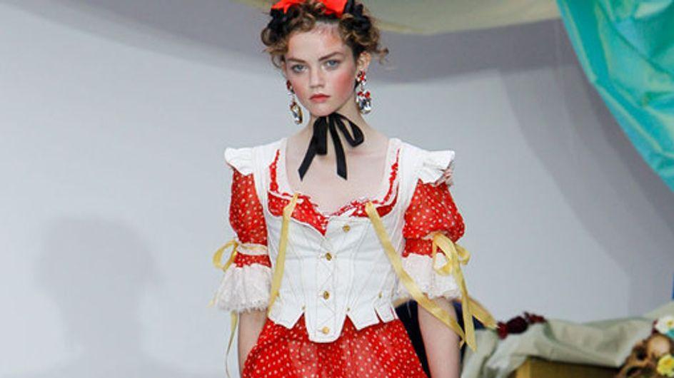 Meadham Kirchoff - London Fashion Week Spring Summer 2013