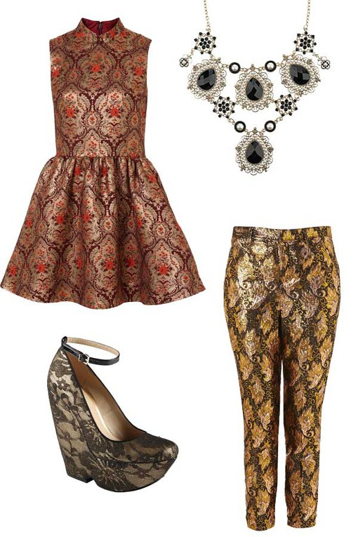 Rock baroque: 50 Fashion finds