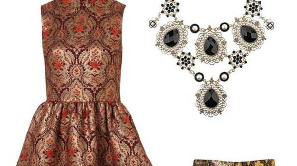 Rock baroque: 50 Fashion finds