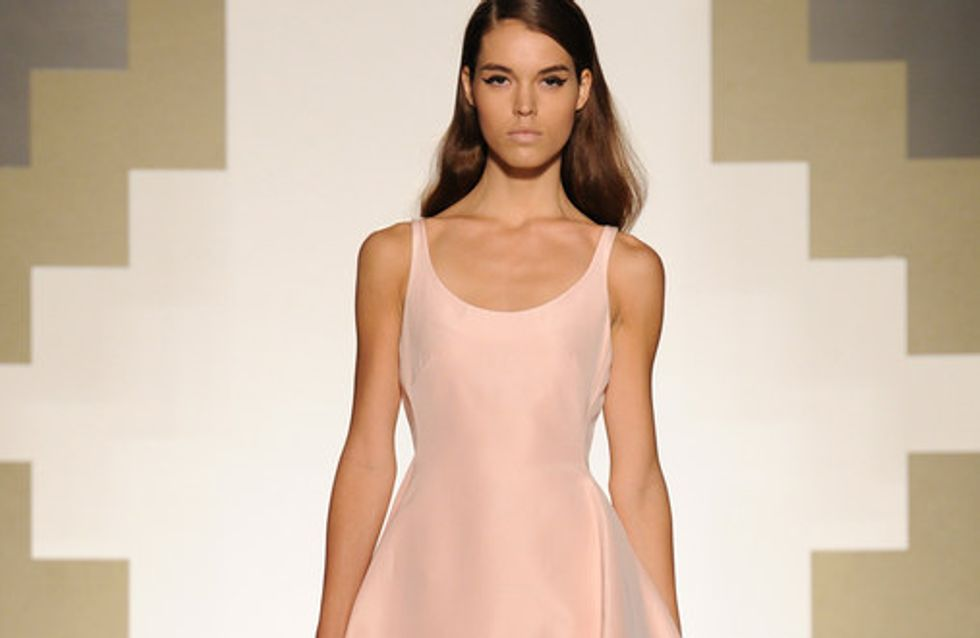 Mila Schon- Milano Fashion Week primavera estate 2013