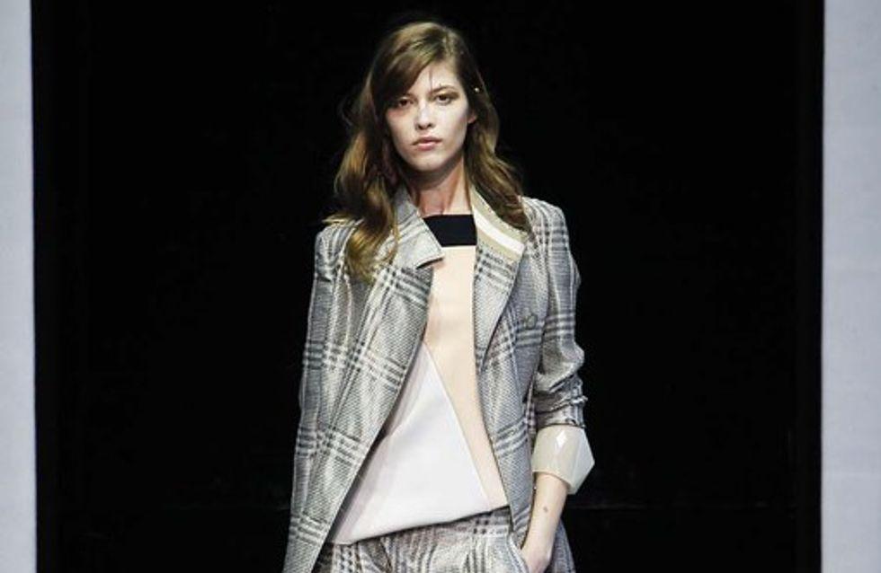 Emporio Armani: Mailand Fashion Week, H/W 2013/14
