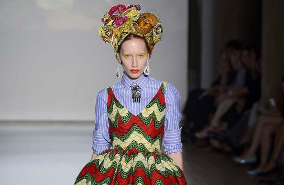 Stella Jean - Milan Fashion Week Primavera Verano 2013