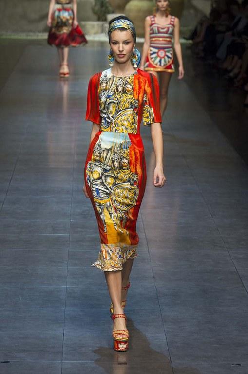 Dolce & Gabbana primavera estate 2013