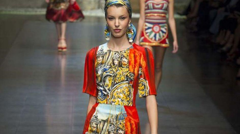 Dolce & Gabbana: torna la Sicilia, la tradizione e l'artigianalità