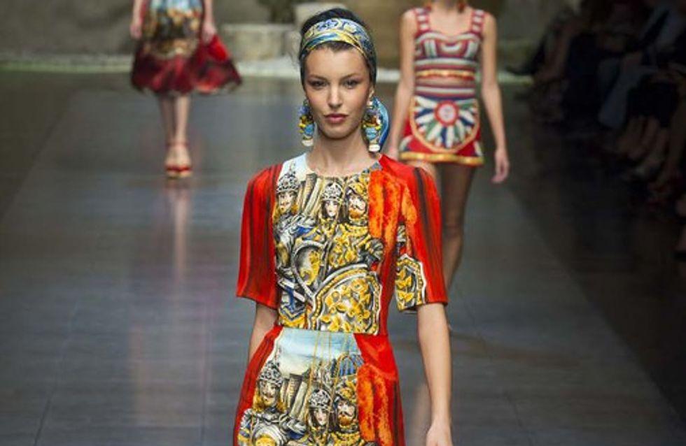 Dolce & Gabbana - Milan Fashion Week Primavera Verano 2013