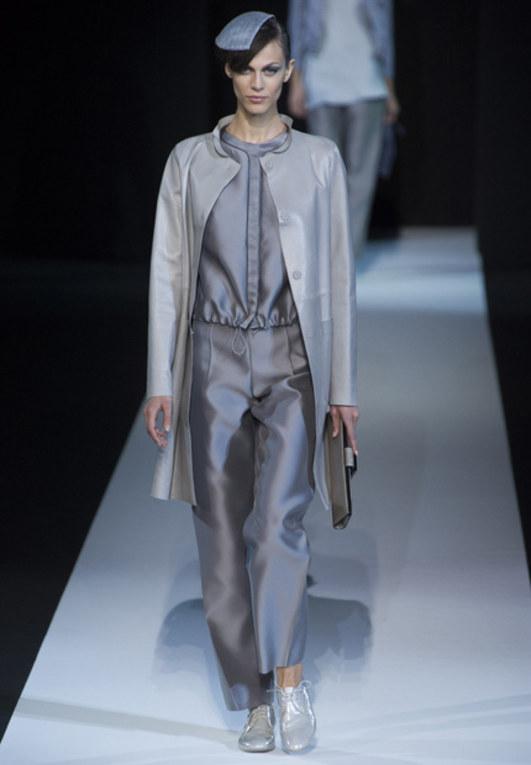 Giorgio Armani: Frühjahr/Sommer 2013, Mailand Fashion Week