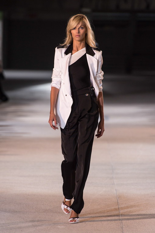 Anthony Vaccarello at Paris Fashion Week Spring Summer 2013