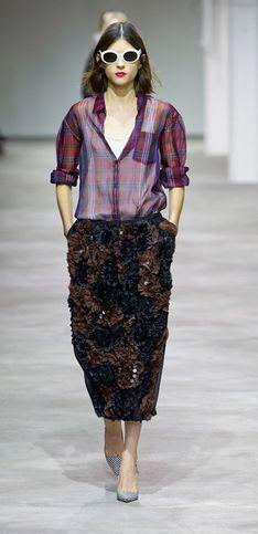 Dries Van Noten Parigi Fashion Week primavera/estate 2013
